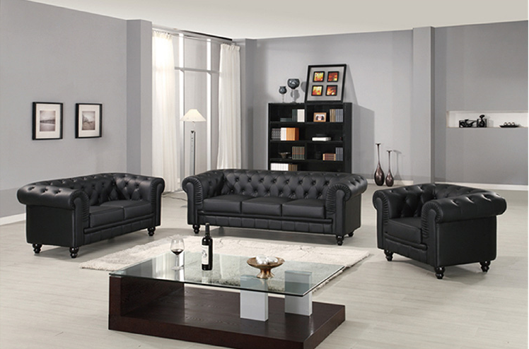 Tengye furniture talking about leather sofa leather sofa ...