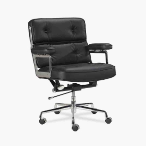 TENGYE Furniture Lobby Black Office Chair Chinese Manufacturer