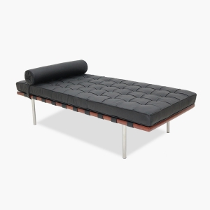 TENGYE furniture Barcelona big bed black leather oem China factory wholesale