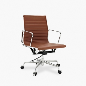 TENGYE furniture Eames low back office chair brown China oem manufacturers