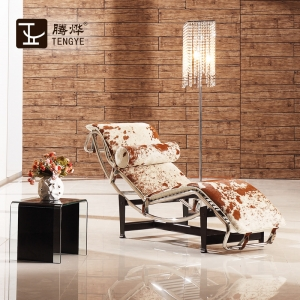 TENGYE furniture adjustable leather chaise longue oem Chinese factory direct sales