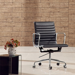 TENGYE furniture low back office chair Eames black factory wholesale