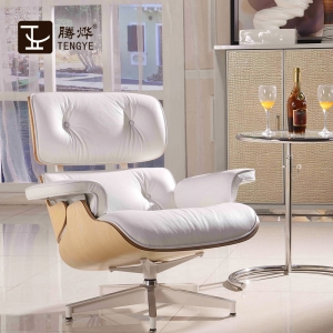 Tengye Eames Chair ash + white skin Chinese factory supply