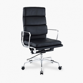China TENGYE Furniture Eames High Back Office Chair Study Room Chair Black China OEM Designer Chair Manufacturer factory