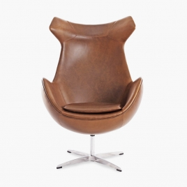 China TENGYE Furniture Lounge Chair Leather China Factory Direct factory