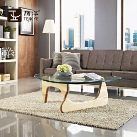 China TENGYE Furniture Modern Tribeca Triangle Coffee Table China Factory factory