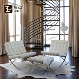 China TENGYE furniture Barcelona chair designer chair OEM China factory wholesale factory