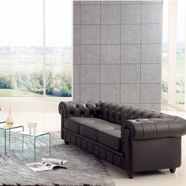 China TENGYE furniture luxury leather living room sofa, aristocratic arm sofa factory wholesale factory