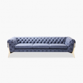 China Tengye Italian-style light luxury modern fabric sofa China factory supply factory