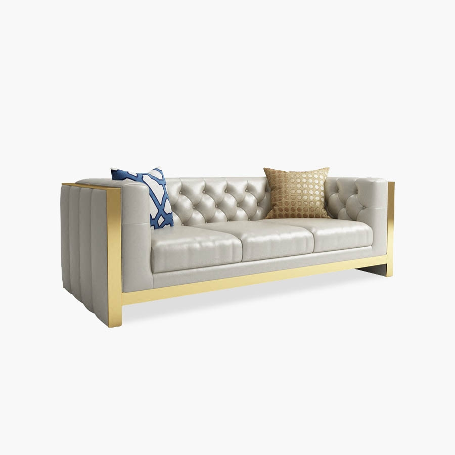 Tengye light luxury style living room sofa factory supply - Factory direct living room furniture ...