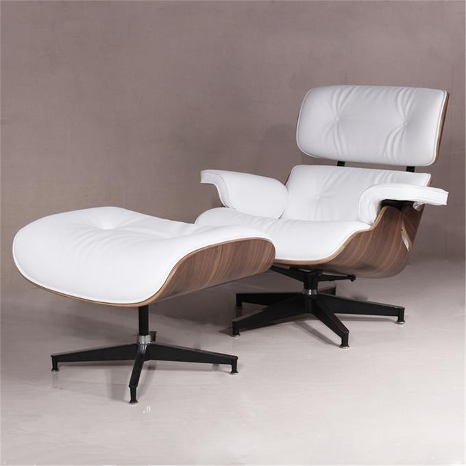 Tengyi Furniture Eames Lazy Walnut Board White Skin